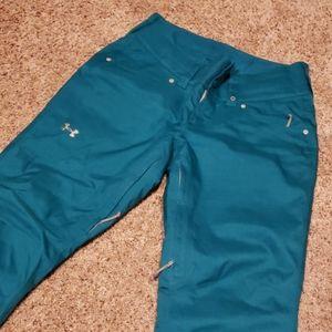 Warm snow pants
